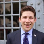 Texas Hillel Student Executive Cabinet member Jason Taper